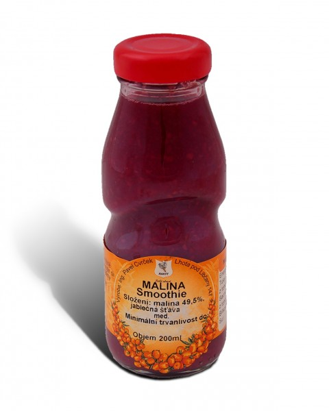Malinové smoothie 200ml