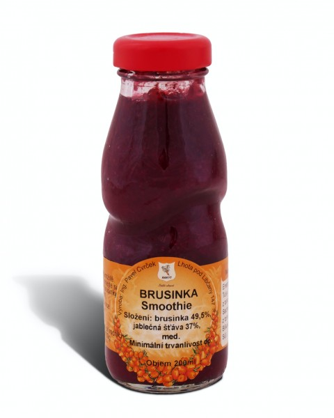 Brusinka smoothie 200ml
